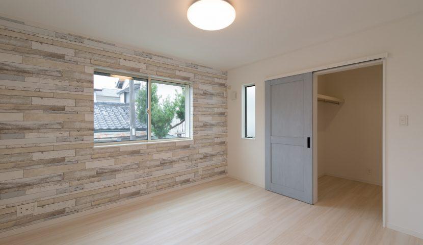 2つの主寝室にはそれぞれ2帖の大型WICを設置
